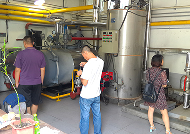 2-Sets-350KW-Gas-Fired-Hot-Water-Boiler-In-Qingdao-China- 1