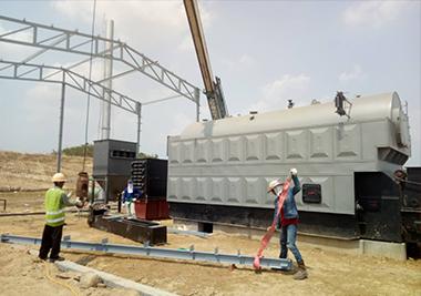 6Th-Coal-Fired-Steam-Boiler-in-Myanmar- 1