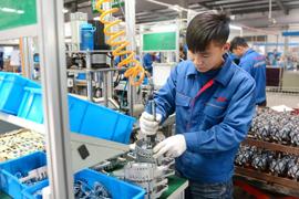 Auto parts factory