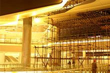 Gypsum building materials plant