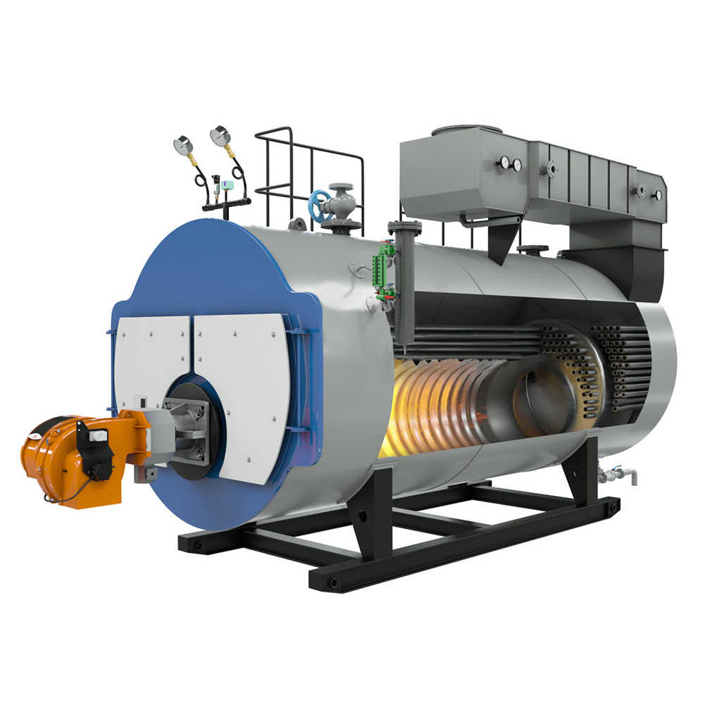 High Pressure Gas Fired Steam Boiler Fully Automatic