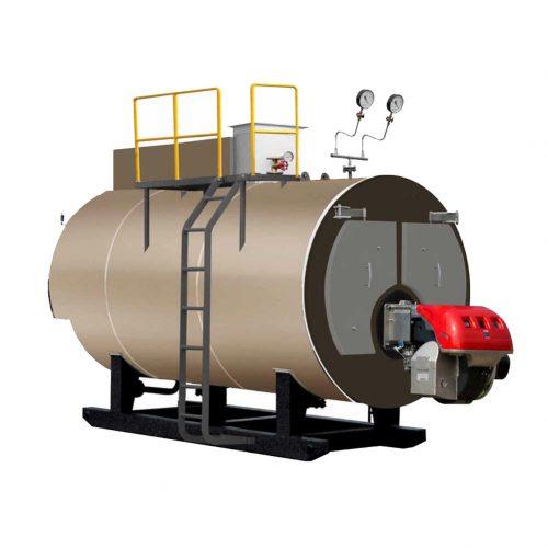 700kg Weight Industrial Heating Gas Fired Steam Boiler