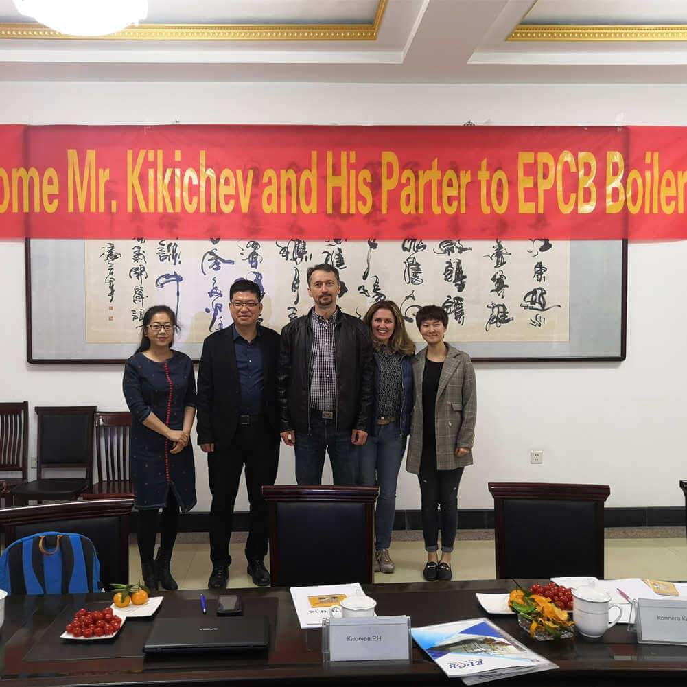 Russian Customers Visited EPCB
