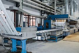 Textile machinery plant