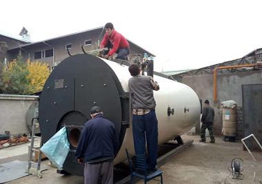 6T/h Gas Fired Steam Boiler the Tashkent, Uzbekistan